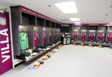 villa dressing room