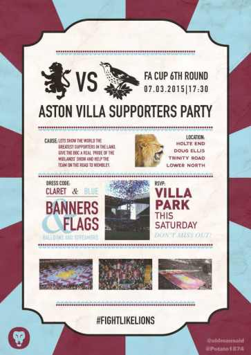 Aston Villa Supporter Party