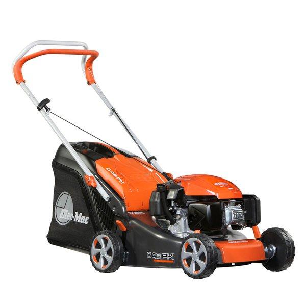 g 48 pk comfort plus oleo mac push type lawnmower