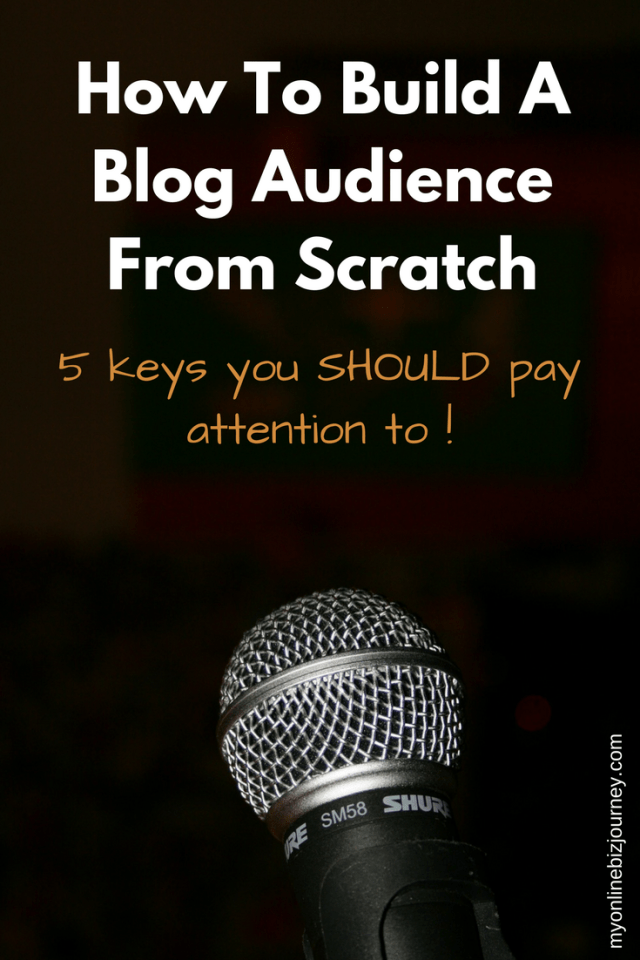 You would not marry someone you just met on the street, right ? So why do you think your future blog audience will become your BFFs the first time around ? Here are 5 keys you need to build a blog audience from scratch