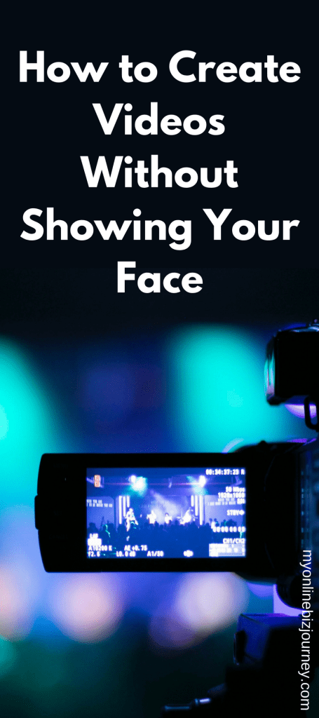 Create videos for Youtube, Instagram, Facebook and pretty much any social media platform even if you don't like to show your face.