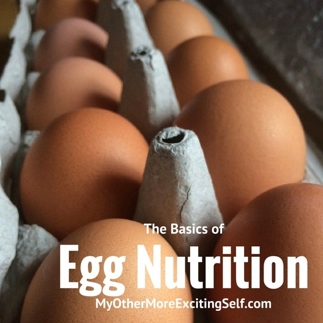 The basics of egg nutrition | via MyOtherMoreExcitingSelf.com #incredibleeggs #womeninag