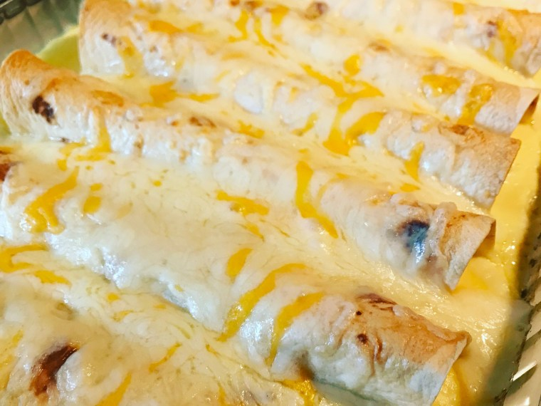 Turkey Breakfast Enchiladas | via MyOtherMoreExcitingSelf.com