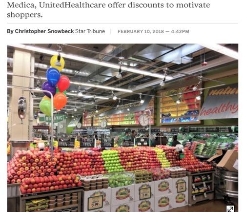 Health Insurance Plans Push Healthy Food Discounts