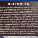 Bearmouth Historical Marker