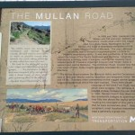 The Mullen Road Historical Marker