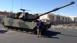 Shooting Guns at Battlefield Vegas