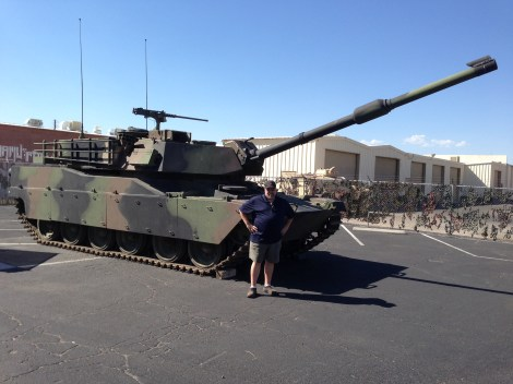 Abrams M1 at Battlefield Vegas