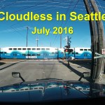[Video] Cloudless in Seattle – July 2016