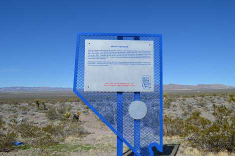 Nevada Test Site Monument