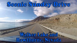 Scenic Sunday Drive – Walker Lake and Hawthorne, Nevada [Video]