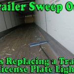 Trailer Sweep Out and License Plate Light Replacement in Groveport, OH [Video]