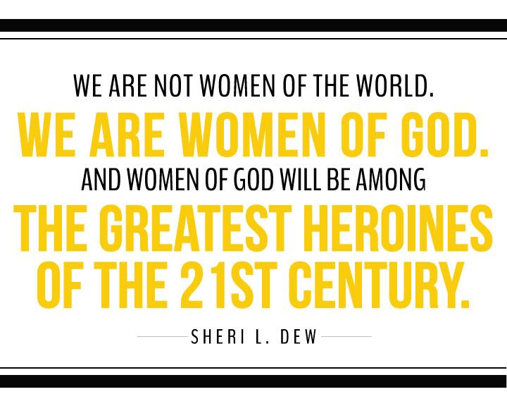 MOBOH-Women-of-God-print-yellow