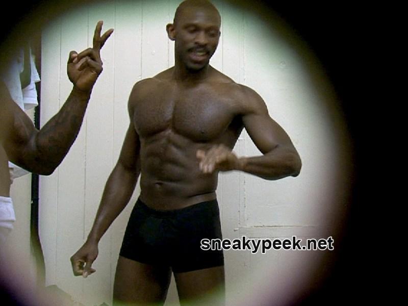 muscle hunk bulging in undies