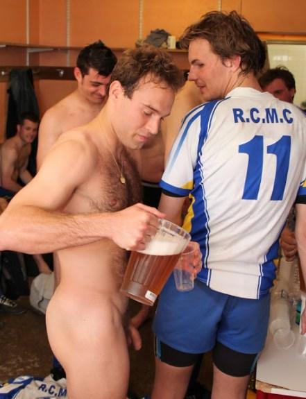 hot sportsmen naked in locker room