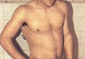 Maradona Naked in locker room
