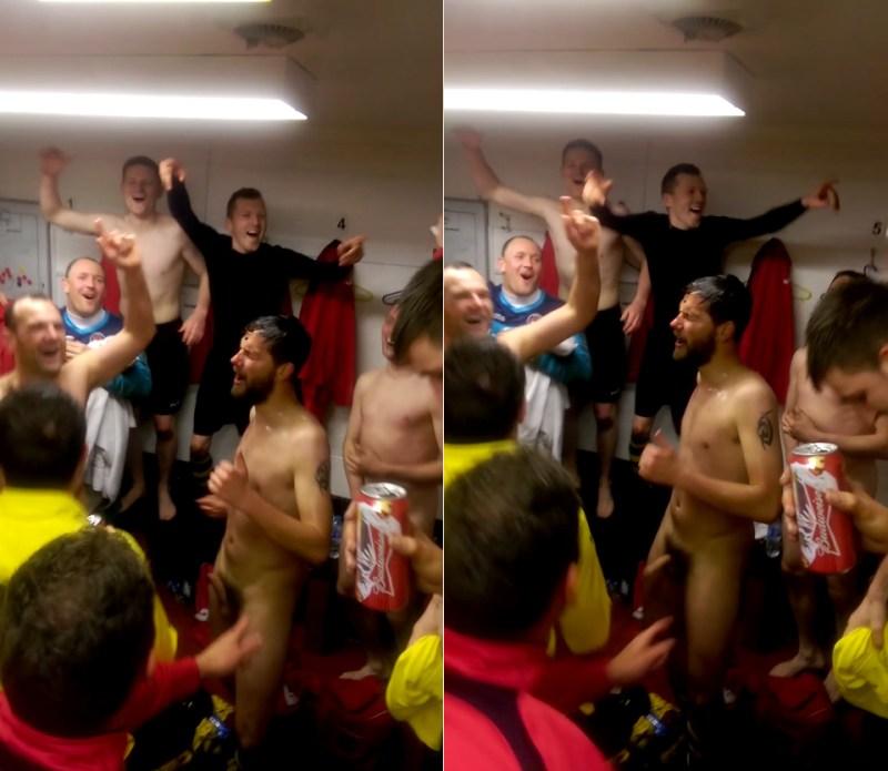 big dick in locker room