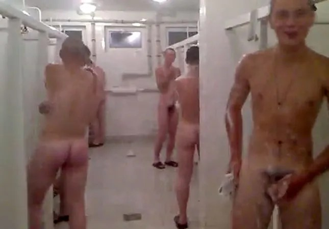 russian-military-guys-in-the-showers-naked
