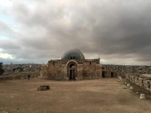 Vieux palais omeyyade de la citadelle d'Amman