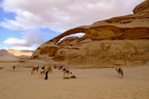 Yellow Arch of Wadi Rum