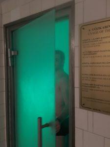 sauna des thermes Gellért
