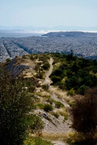 sentier colline de filopappou
