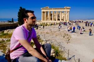Poséidon et le Parthénon !