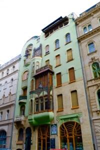 la maison de la sécession hongroise