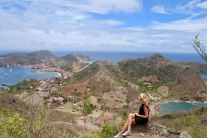 vue sur l'archipel des saintes