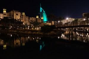 Madinat Jumeirah by night