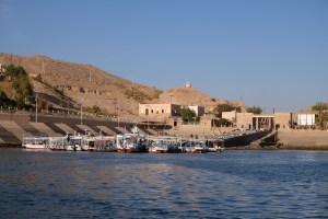 Embarcadère pour Ile de Philae temple