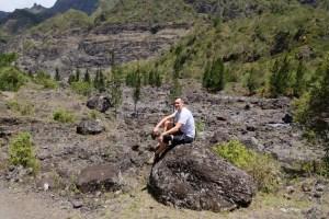 paysage de la cascade des 3 roches