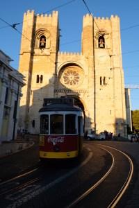 Le quartier Alfama cathédrale Sé