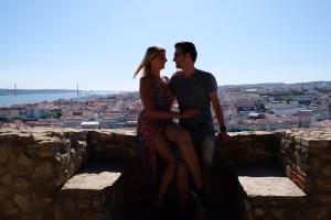 vue du château Saint Jorge