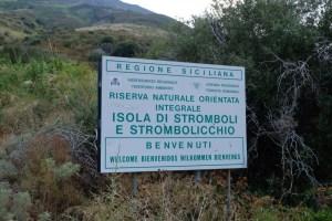 point de départ du Stromboli