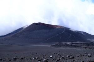 Paysage lunaire de l'Etna