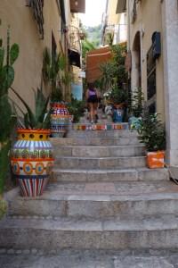 ruelles de Taormina