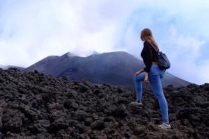le majestueux Etna !