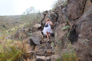 Randonnée boucle de Guama - Tamaimo