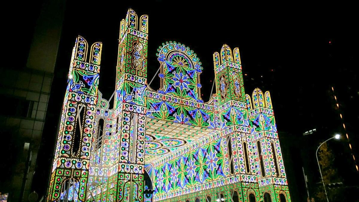 (2017年版)現場直擊最感動的大型燈飾匯演「神戶ルミナリエ」,壓倒性的動人及美麗,2017年的舉行日期由12月8日至17日之間。