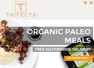 Screenshot of Trifecta Home Page-They serves fresh meal delivery Sacramento for the customers. Prepared food delivery Sacramento is hygienic and tasty. Paleo restaurant Sacramento is well known in this city. Their meal delivery service Sacramento is maintain time schedule for the customers.