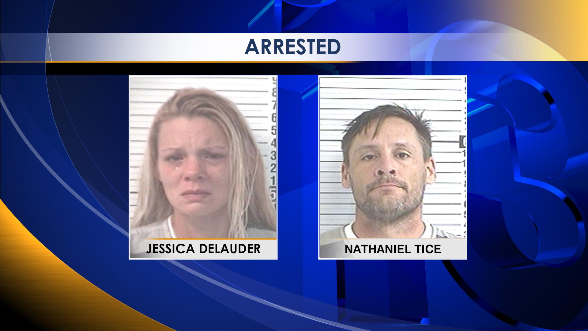 Jessica Delauder Nathaniel Tice Dual Arrested_1496370861738.jpg