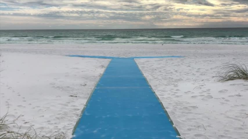 Walton County Gets Wheelchair Friendly Mats for the Beach
