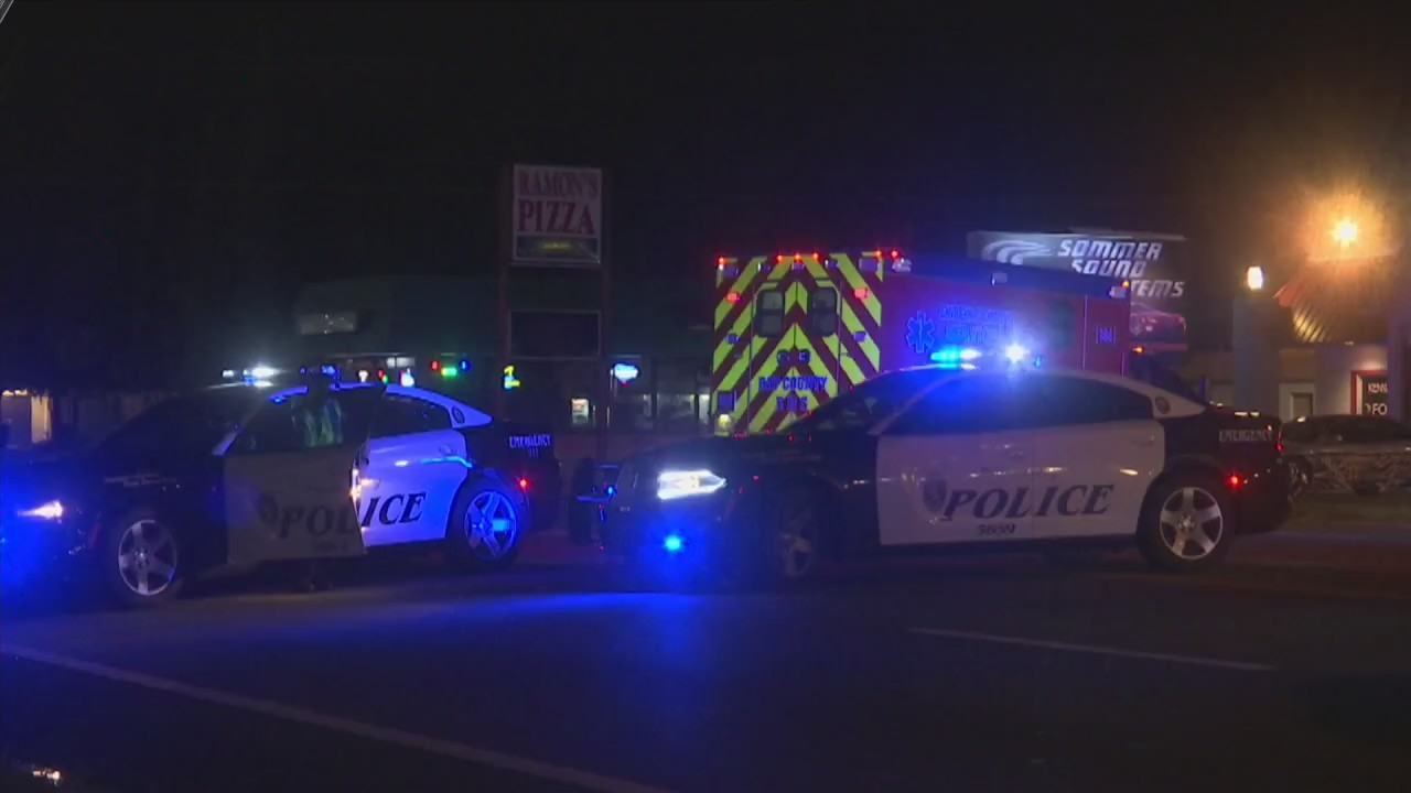 A Man Struck by a Vehicle is Taken to Hospital