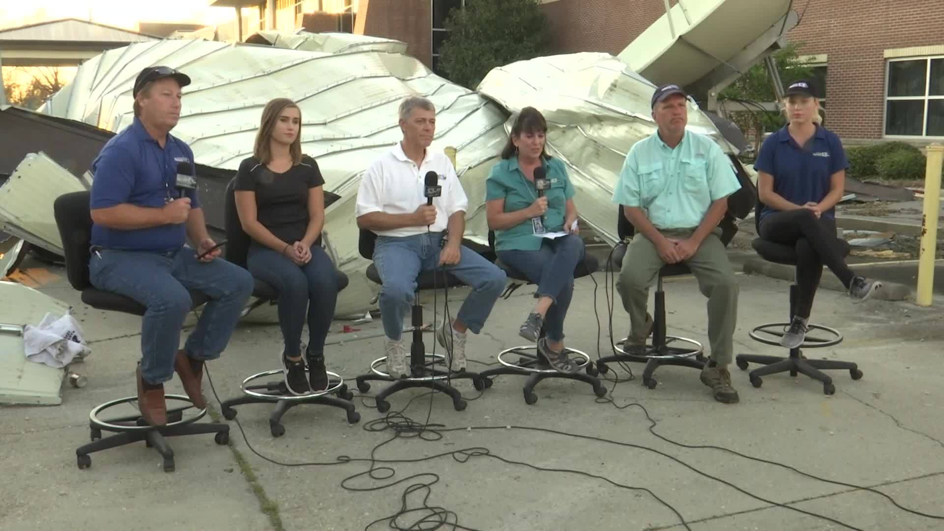 News 13 broadcasts hour-long newscast after Hurricane Michael damage