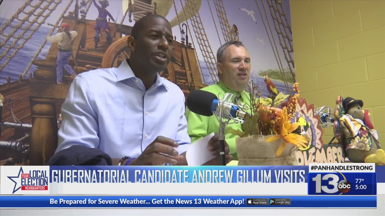 Andrew Gillum Visits the Panhandle