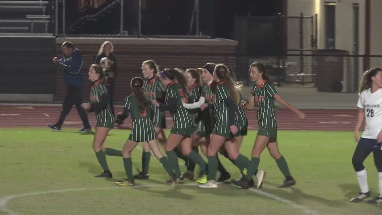 Mosley girls soccer wins district championship