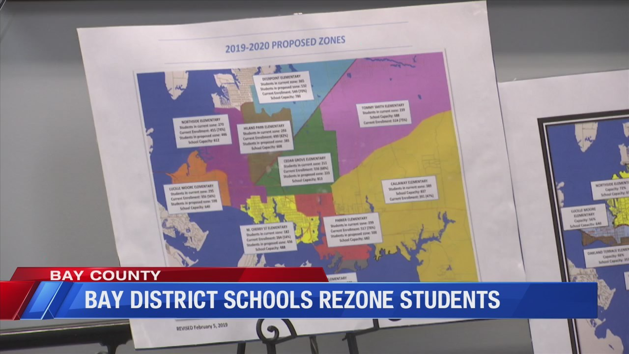 Bay District Students Rezoned