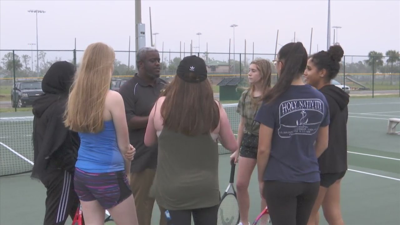 Rutherford girls tennis team travels to Alabama this weekend