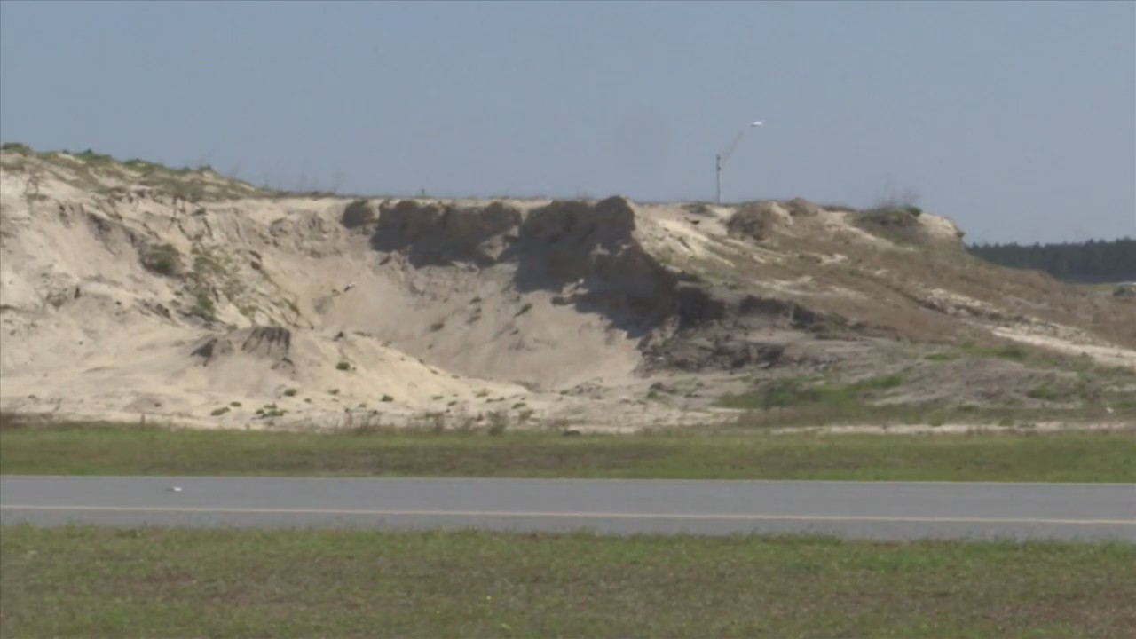 Airport Sand Pile